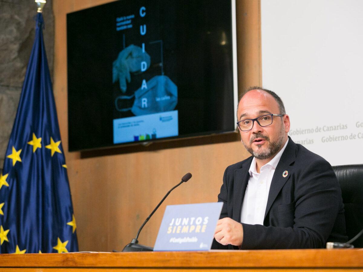 GOBIERNO DE CANARIAS     El Gobierno de Canarias pone en marcha la campaña de concienciación ciudadana 'La nueva realidad'