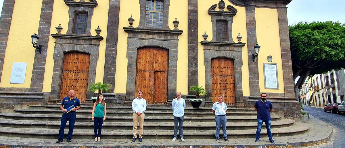 Santa María de Guía se suma a la red de Escuelas de Iniciación al Baloncesto que promueve el CB Gran Canaria